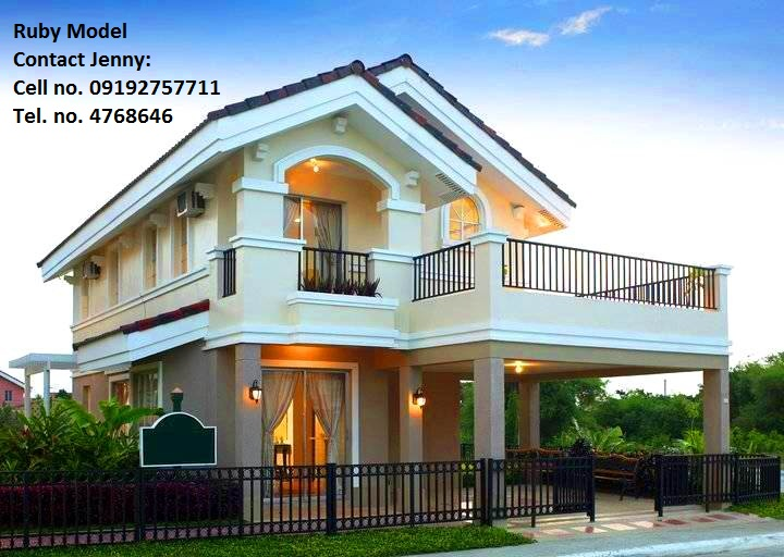 Ruby model house of camella homes bacolod bacolod city for Camella homes design with floor plan